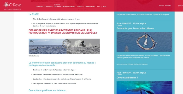 Mata Tohora lance une campagne de crowdfunding