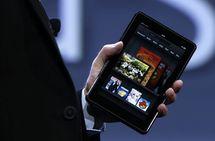 Amazon présente sa tablette multimédia, le Kindle Fire