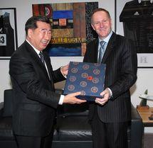 Pékin et Wellington signent une série d'accords commerciaux et économiques