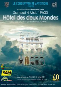 """""""L'hôtel des deux mondes"""" d'Éric-Emmanuel Schmitt au petit théâtre"""