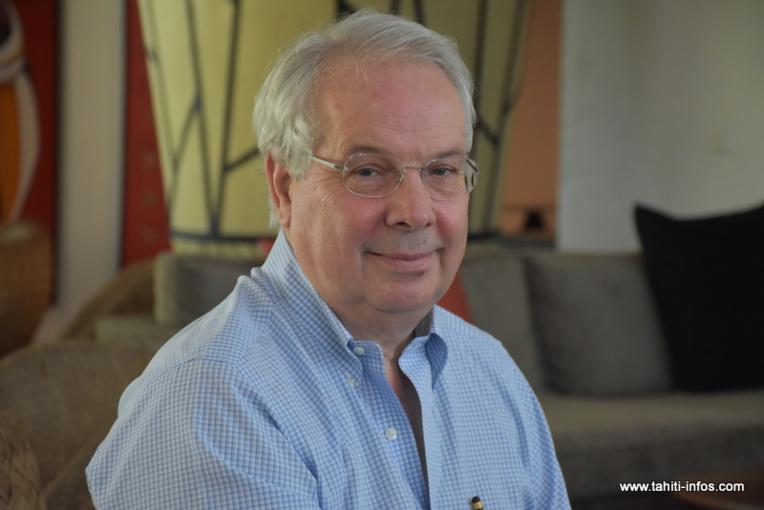 Marc Rochet, président de la compagnie aérienne French Bee.