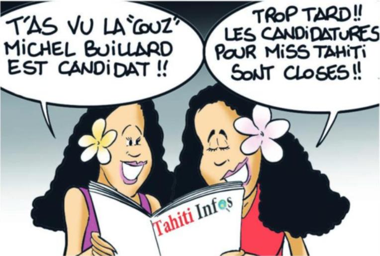 """"""" La dixième candidate """" par Munoz"""