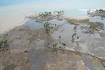 Montées des eaux : Palau suggère une notion de « responsabilité » des pays émetteurs de CO2