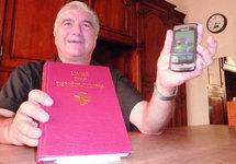 Nice: bénédiction de portables pour la Saint Gabriel, patron des transmissions
