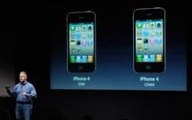 Apple lance l'iPhone 4S, plus puissant, doté de nouvelles commandes vocales