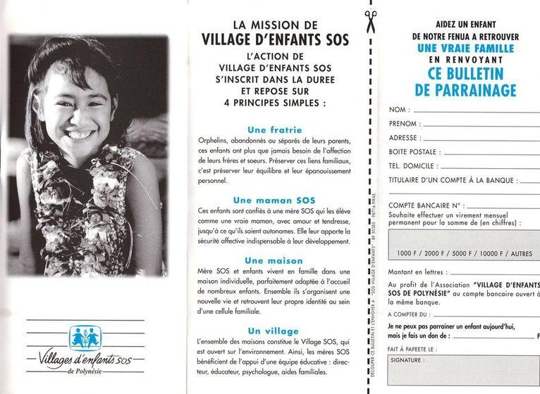 Victime de la baisse des dons, le village d'enfants SOS de Papara risque de fermer