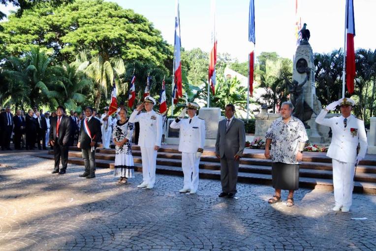 Un amiral américain pour la commémoration du 8 mai à Papeete