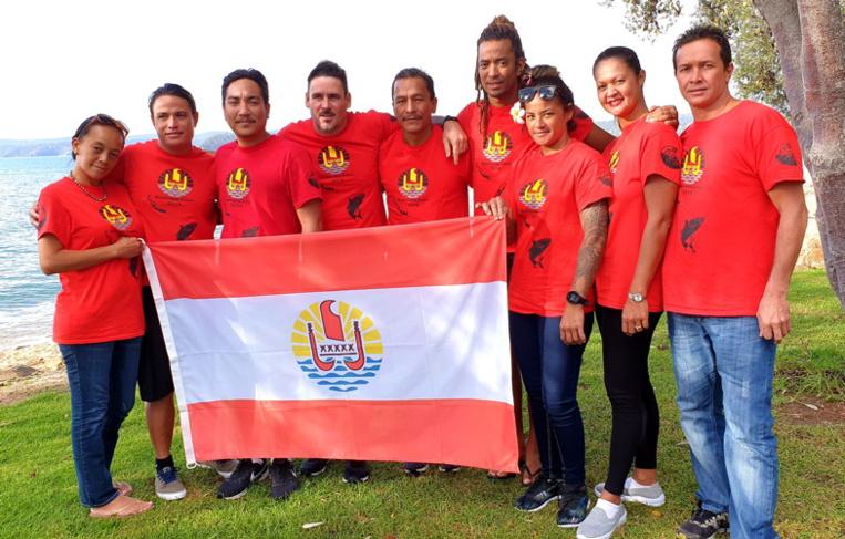 Le team Tahiti en Australie
