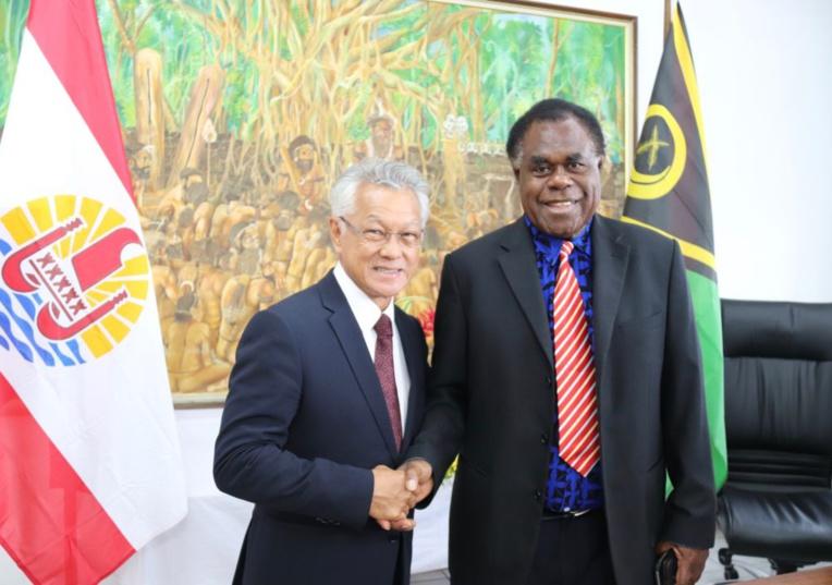 Un partenariat entre les assemblées du Vanuatu et de Polynésie