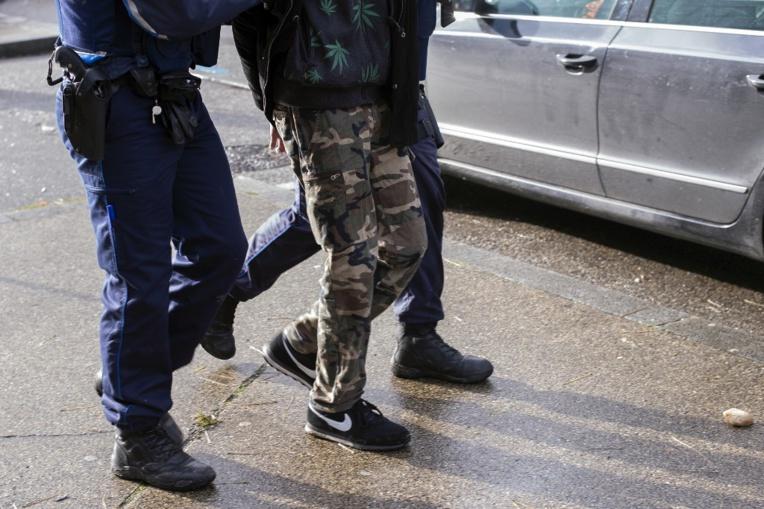 Onze tonnes de résine de cannabis saisies vendredi près de Besançon