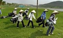 Vietnam: les fonctionnaires des Transports privés de golf