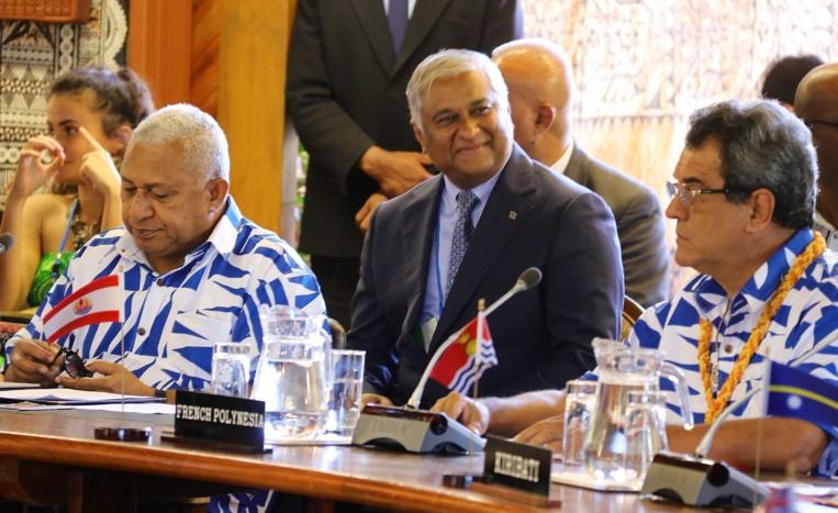 Forum des îles du Pacifique : le réchauffement climatique au cœur des débats