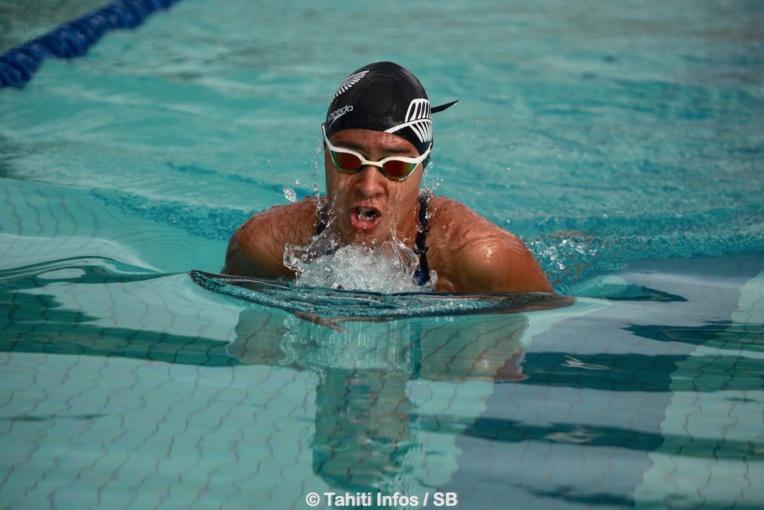 Poerani Bertrand, fer de lance de la natation féminine polynésienne