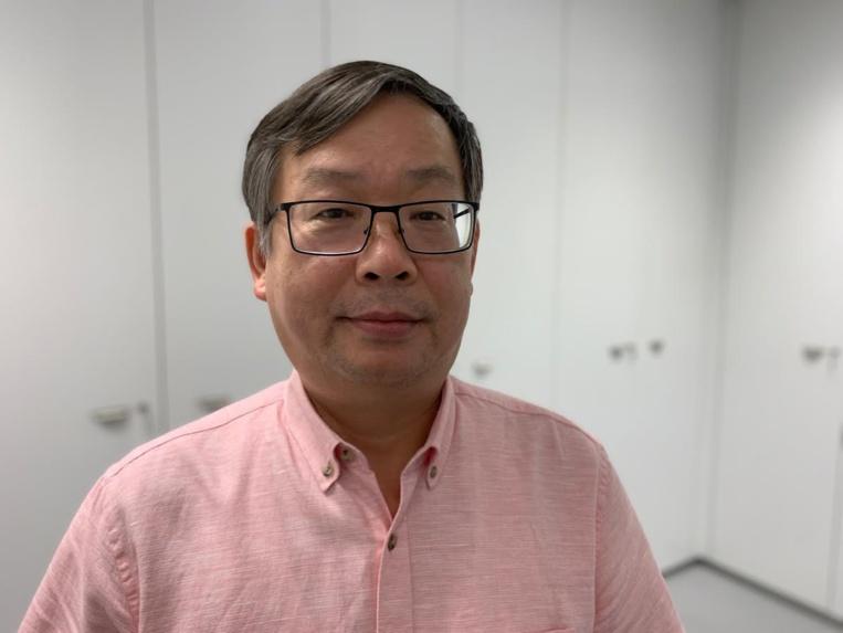 Le consul de Chine en Polynésie française, Shen Zhiliang.