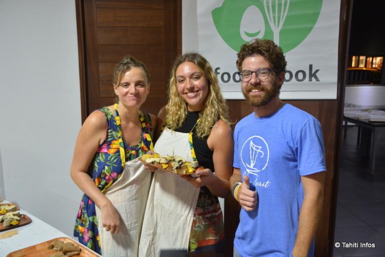"""La soirée de lancement s'est terminée avec un buffet local, préparé par une startup issue de la première promotion du PRISM, """"Food&Cook Lab"""". Elle aussi poursuit sa croissance, la construction de son local est en cours."""