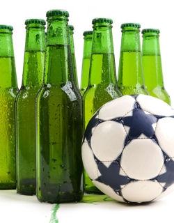 Il faut finir un match de foot, même dirigé par un arbitre ivre mort!