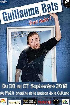 Guillaume Bats en septembre au Petit théâtre