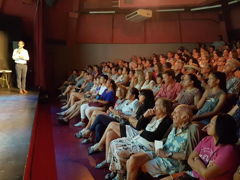 La conférence sur le microbiote de Benoît Chassaing projetée à l'UPF