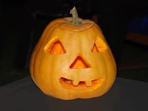 Le potiron est à la fête pour Halloween