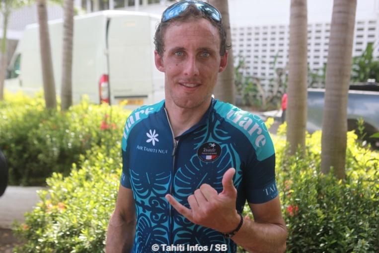 Jérôme Coppel, grand vainqueur de la Ronde Tahitienne 2019
