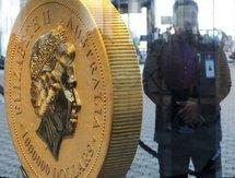 L'Australie dévoile la pièce d'or la plus grosse du monde
