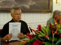 Budget 2011 : le rapporteur public du Conseil d'Etat balaie celui de Tong Sang