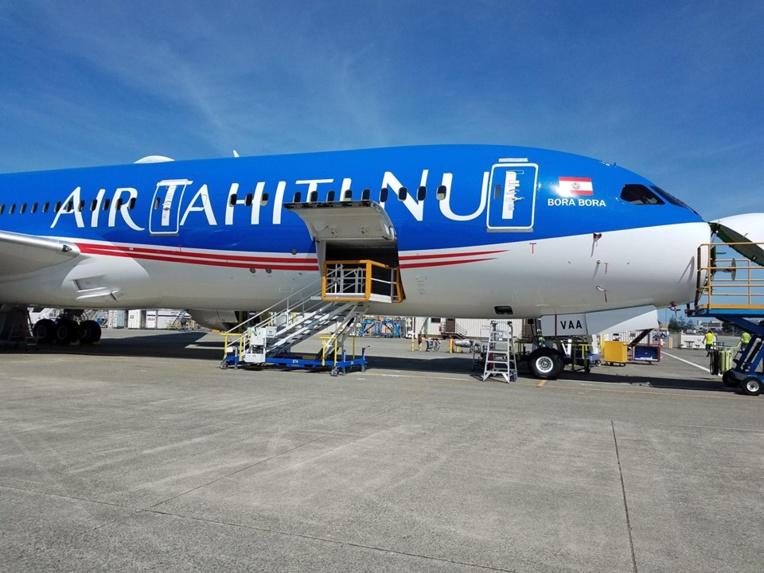 Air Tahiti Nui réceptionne son troisième Dreamliner