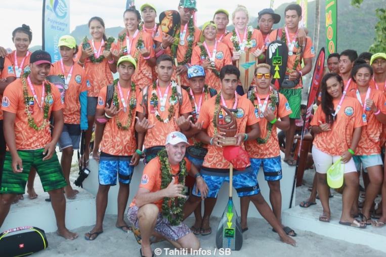 Le collège de Bora Bora s'est imposé au scratch