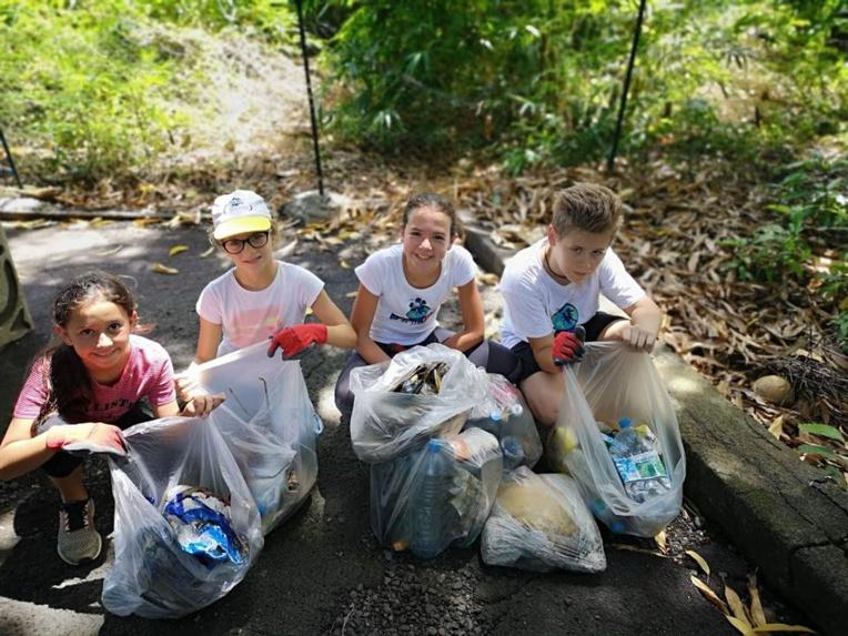 Les Eco Kids du Fenua se mobilisent pour l'environnement à travers diverses actions