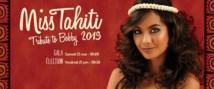 """Le gala, une avant-première """"fleurie"""" pour les prétendantes à Miss Tahiti"""