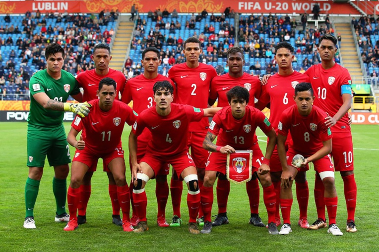 La sélection de Tahiti U20, les Taurea Aito © FIFA via Getty Images