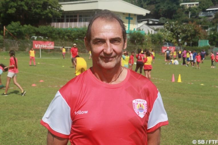 Patrice Flaccadori, directeur technique à la fédération tahitienne de football