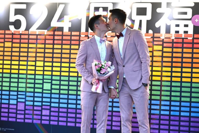 Taïwan entre dans l'histoire en actant les premiers mariages homosexuels d'Asie