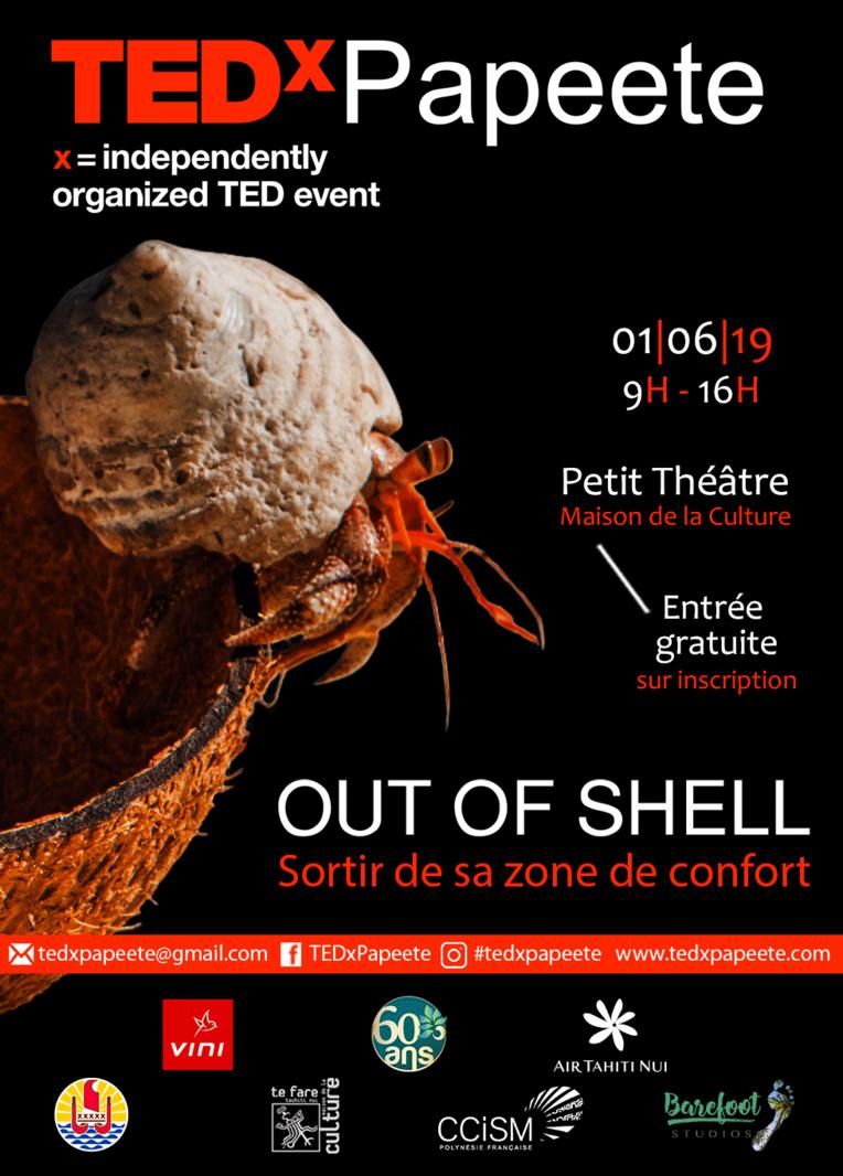 TEDx Papeete : Sortir de sa zone de confort