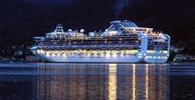 """Le """"Sapphire Princess"""" fera escale à Papeete mercredi avec ses 2 625 passagers et 1 100 membres d'équipage"""