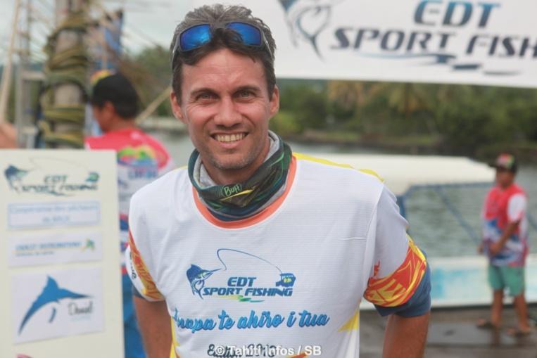 Patrick Costeux, cycliste-pêcheur
