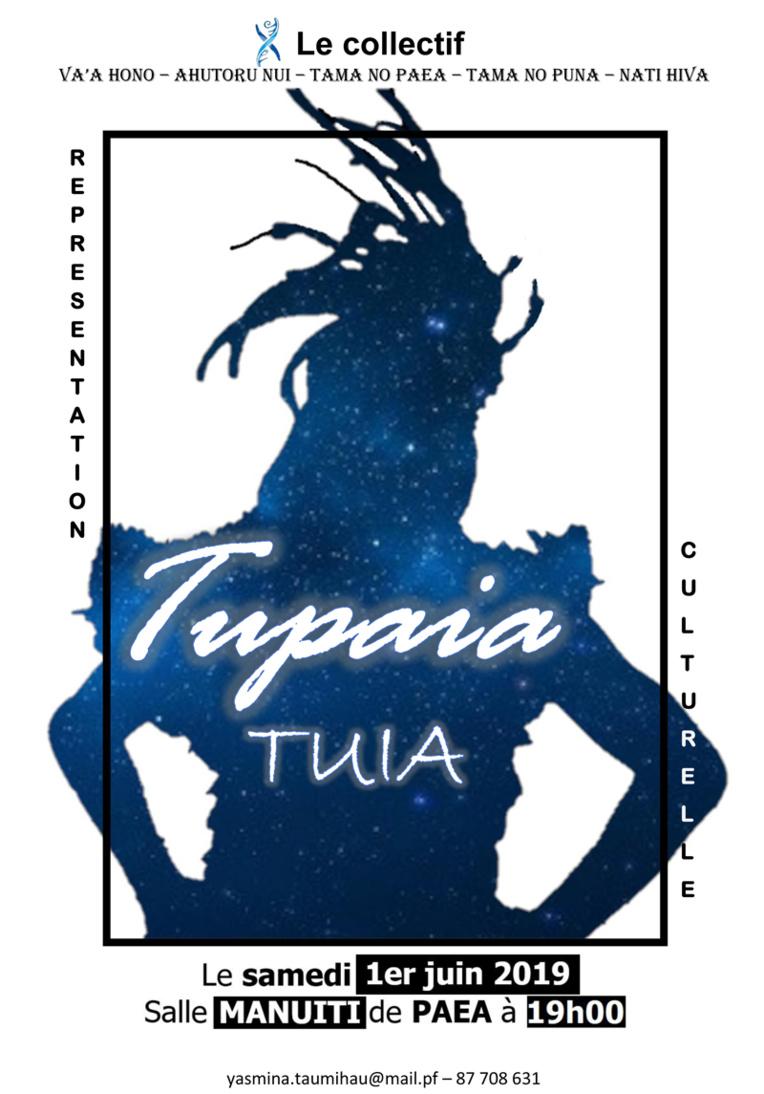 Tupaia Tuia, 1 représentation unique qui valorise 2 ans de recherches
