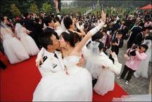 Le 11/11/11, jour des célibataires et date de mariage prisée en Chine