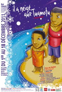 """""""Il a neigé aux Tuamotu"""", un conte de Noël au Petit Théâtre"""
