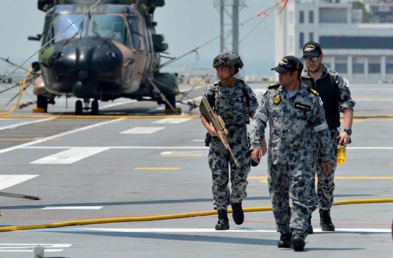 Des pilotes australiens ciblés par des lasers en mer de Chine méridionale
