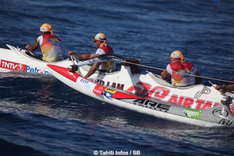Air Tahiti Va'a s'est associé avec Tamarii CPS, avec succès