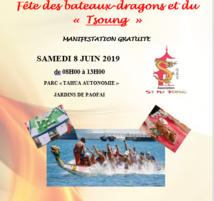 La fête des bateaux-dragons et du Tsoung aura lieu samedi 8 juin
