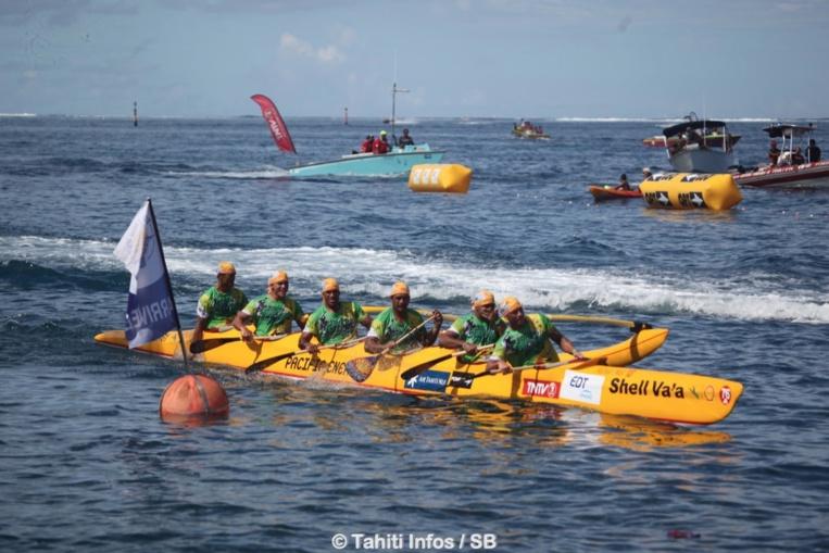 Large victoire pour Shell Va'a