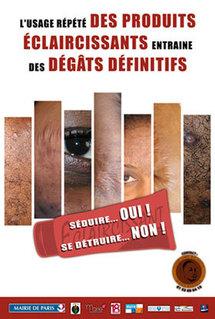 Les produits pour s'éclaircir la peau : attention danger !