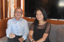 Didier Lamoot, directeur régional du groupe Accor pour la Polynésie française et Heikura Vaxelaire, directrice commercial et Marketing.