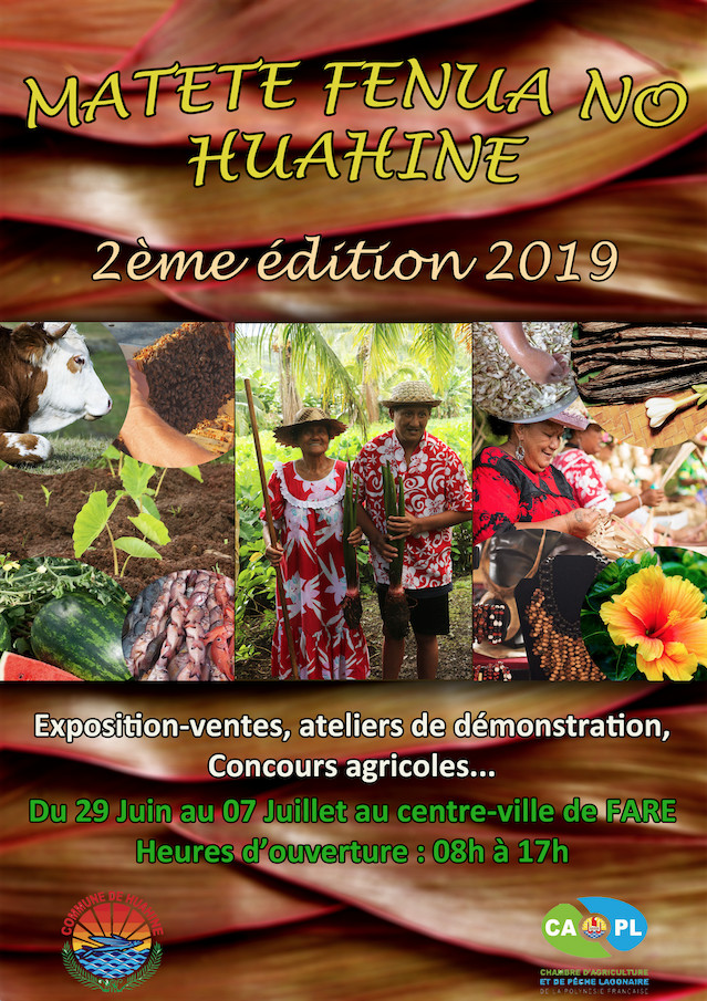 La foire agricole de Huahine ouvrira ses portes le 29 juin