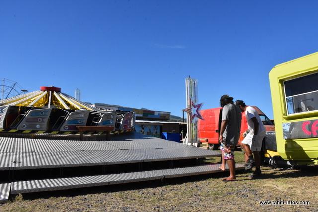 Le Hully Gully, l'une des nouvelles attractions de cette année du côté de Vaitupa.