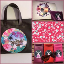 Tahiti Fashion Week : des accessoires 'full print' 100% made in Fenua