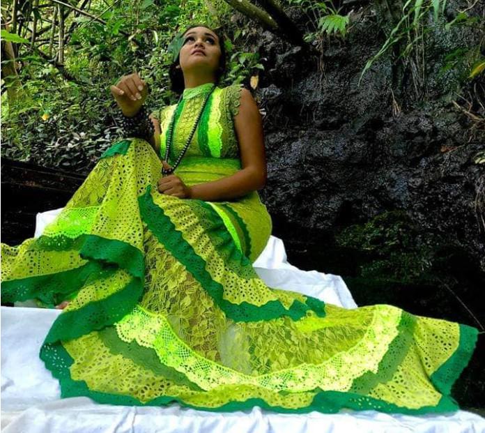 Tahiti Fashion Week : Tiare Teote rêve de voir ses robes portées à Hollywood