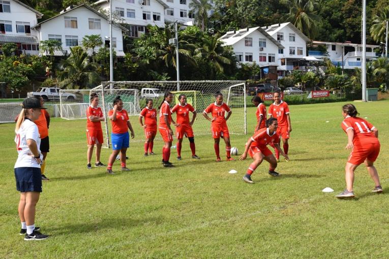 Les Vahine Ura sont actuellement en pleine préparation pour les Jeux du Pacifique qui se tiendront en juillet prochain aux Samoa.